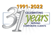 Celebrating 25 years serving corporate clients.